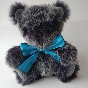 Мягкие игрушки ручной работы. Ярмарка Мастеров - ручная работа Мягкие игрушки: Медвежонок Хмуря. Handmade.