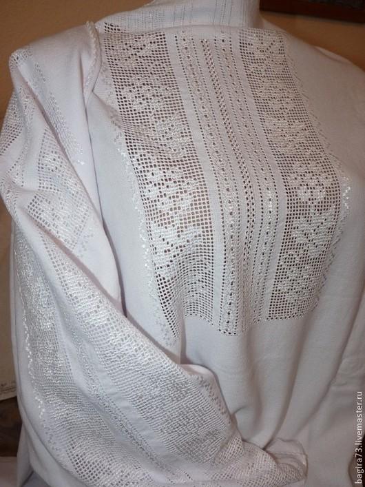"""Блузки ручной работы. Ярмарка Мастеров - ручная работа. Купить Блузка """"262"""". Handmade. Белый, сорочка, Вышиванка, сулейманова евгения"""