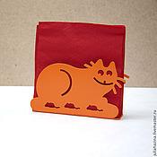 Для дома и интерьера ручной работы. Ярмарка Мастеров - ручная работа кот и мыши. Handmade.