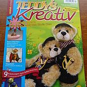 Материалы для творчества ручной работы. Ярмарка Мастеров - ручная работа Журнал Teddys Kreativ 4/2010. Handmade.