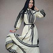 Одежда handmade. Livemaster - original item Fancy dress with lace