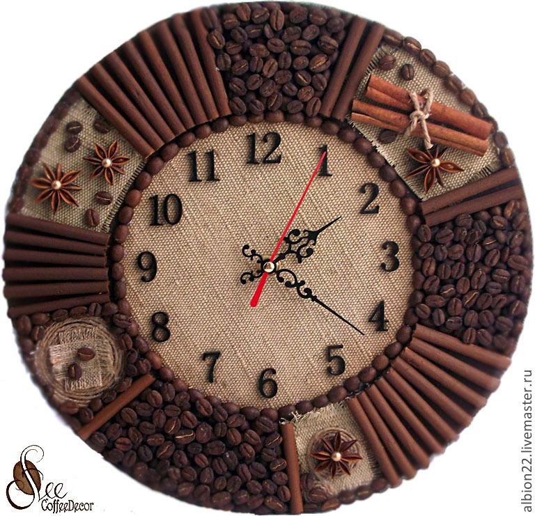Часы настенные с фото своими руками мастер класс