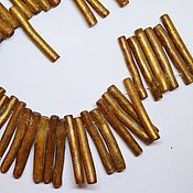 Материалы для творчества ручной работы. Ярмарка Мастеров - ручная работа Коралл, палочки золото. Handmade.