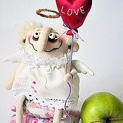 Подарки к праздникам ручной работы. Ярмарка Мастеров - ручная работа сердешный небесный влюбленный. Handmade.
