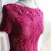 Одежда handmade. Livemaster - original item Irish lace. Blouse