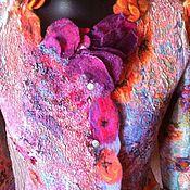 """Одежда ручной работы. Ярмарка Мастеров - ручная работа пиджак""""Сирень"""". Handmade."""