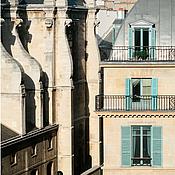 Картины и панно ручной работы. Ярмарка Мастеров - ручная работа Париж Фотокартина  для интерьера «Высокие параллели Риволи» (2). Handmade.