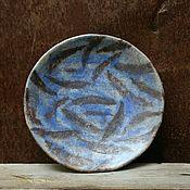Посуда ручной работы. Ярмарка Мастеров - ручная работа Тарелка Опавшие листья. Handmade.