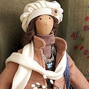 Куклы и игрушки ручной работы. Ярмарка Мастеров - ручная работа Верба. Кукла в стиле тильда.. Handmade.
