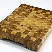 Для дома и интерьера handmade. Livemaster - original item End cutting Board №102. Handmade.