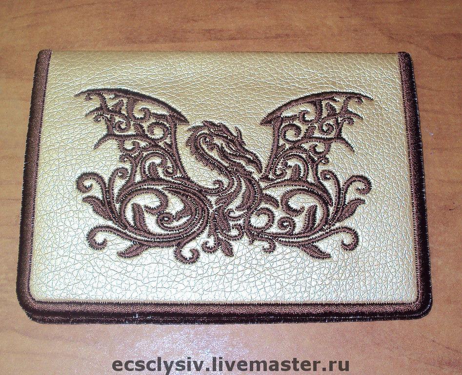 """Обложка для паспорта """"Дракон2"""", Обложки, Рязань, Фото №1"""