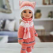 Куклы и игрушки handmade. Livemaster - original item Clothes for Paola Reina dolls. Coral set