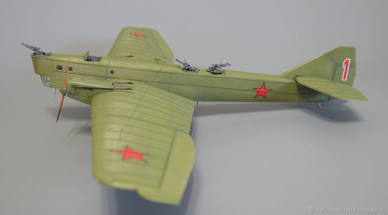 Модель ТБ-1 (АНТ-4), 1/72, Модели, Москва,  Фото №1