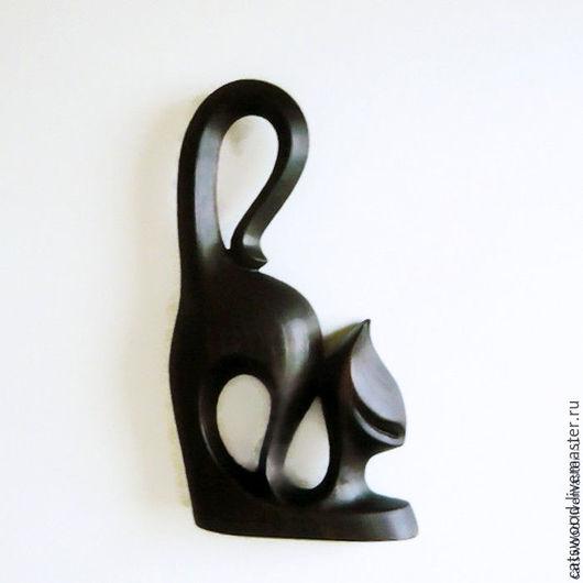 """Статуэтки ручной работы. Ярмарка Мастеров - ручная работа. Купить Статуэтка из дерева Кошка """"Африканка-2"""". Handmade. Кошка, заказ"""