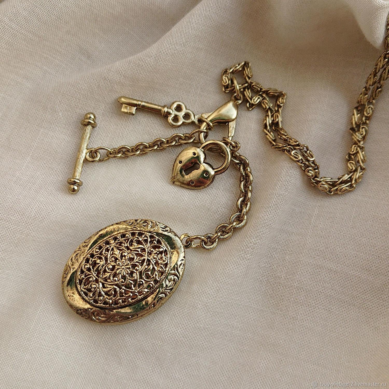 Винтаж: Талисманы любви - колье 1928 Jewelry, Колье винтажные, Москва,  Фото №1