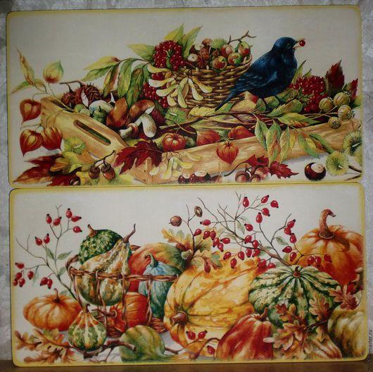 """Кухня ручной работы. Ярмарка Мастеров - ручная работа. Купить """"Урожай"""" Разделочная доска панно. Handmade. Комбинированный, натюрморт с фруктами"""