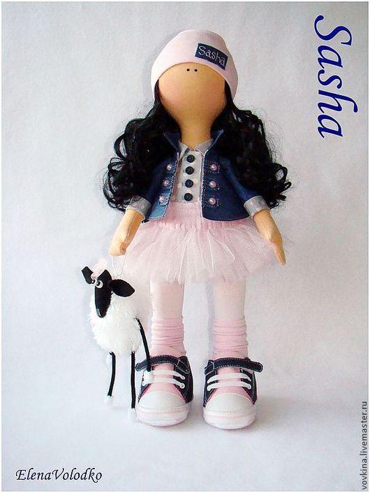 Коллекционные куклы ручной работы. Ярмарка Мастеров - ручная работа. Купить Кукла Sasha. Handmade. Интерьерная кукла, подарок девушке