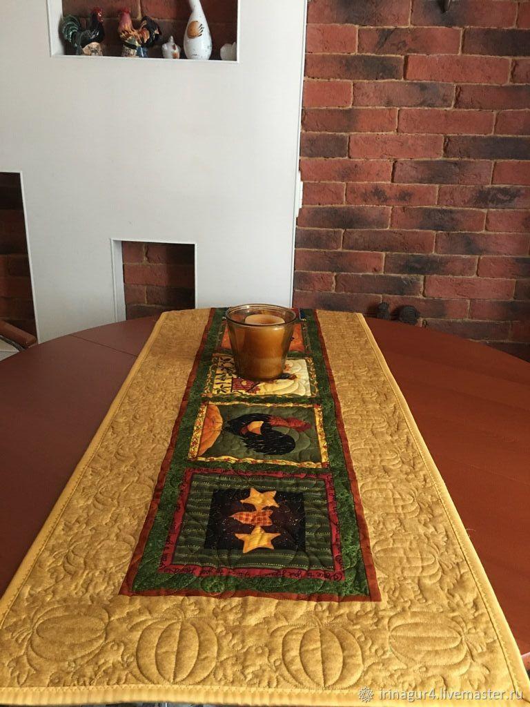 Стеганая дорожка на стол, Декоративные салфетки, Ярославль,  Фото №1