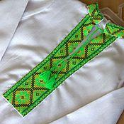 Работы для детей, ручной работы. Ярмарка Мастеров - ручная работа Рубашка вышитая на мальчика. Handmade.
