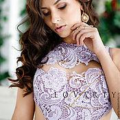 Одежда handmade. Livemaster - original item Lilac dress. Handmade.