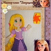 Материалы для творчества handmade. Livemaster - original item Master class doll Rapunzel. Handmade.
