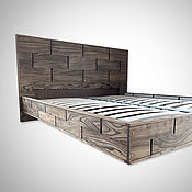 Для дома и интерьера handmade. Livemaster - original item The original model of the bed made of wood, art. 0507. Handmade.