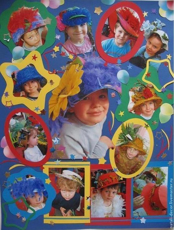 """фотоколлаж """"Детский праздник"""", Фотокартины, Москва,  Фото №1"""