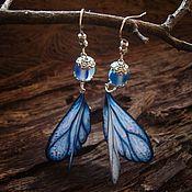 Украшения handmade. Livemaster - original item Earrings-wings