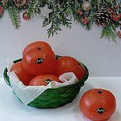 Косметика ручной работы handmade. Livemaster - original item Soap Tangerine. Handmade.