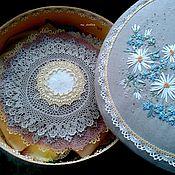 Для дома и интерьера ручной работы. Ярмарка Мастеров - ручная работа Шкатулка для рукодельницы. Handmade.