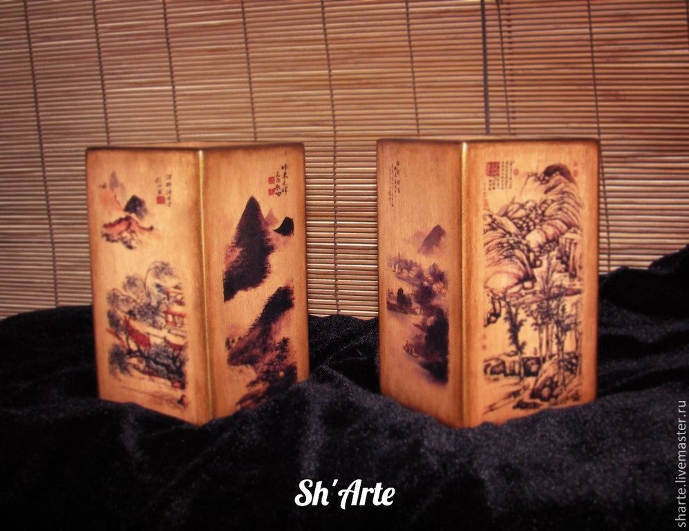 Pair of vases in Chinese style, Vases, Moscow,  Фото №1