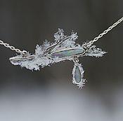 Украшения handmade. Livemaster - original item Necklace with Australian opal