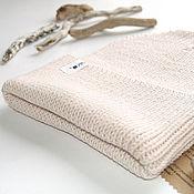 Аксессуары handmade. Livemaster - original item Cap beanie with wide lapel, 100% wool. Handmade.