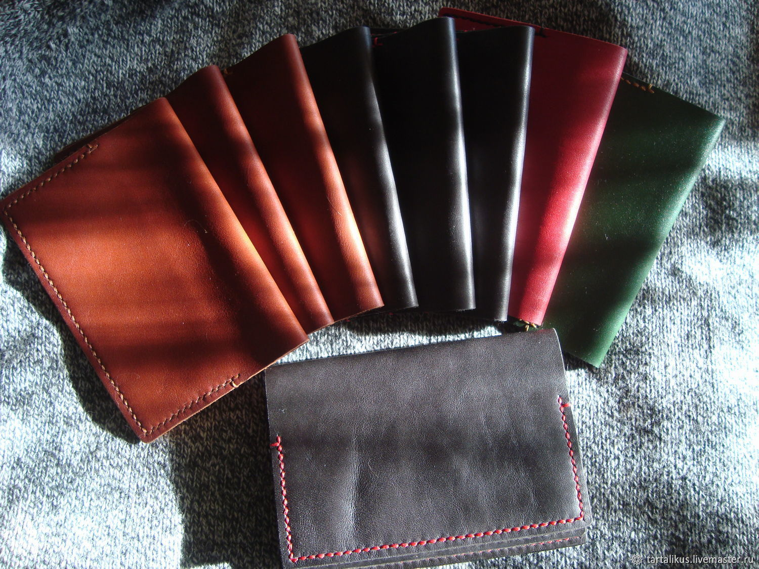 Passport cover and leather documents, Passport cover, Balahna,  Фото №1