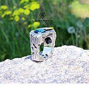 """Кольца ручной работы. Ярмарка Мастеров - ручная работа Оригинальное кольцо """"Дикий камень"""". Handmade."""