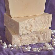 """Косметика ручной работы. Ярмарка Мастеров - ручная работа """"Молочный соблазн"""" натуральное мыло ручной работы. Handmade."""