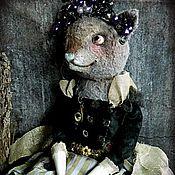 Куклы и игрушки ручной работы. Ярмарка Мастеров - ручная работа Кошка Луиза. Handmade.