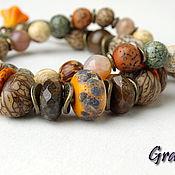 Украшения handmade. Livemaster - original item Bracelet made from natural materials. Handmade.
