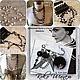Авторские украшения бижутерия ручной работы из натурального жемчуга красивые модные длинные бусы 2015 года купить заказать в интернете в Москве фото