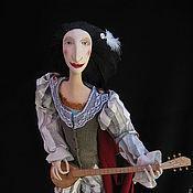 """Куклы и игрушки ручной работы. Ярмарка Мастеров - ручная работа Авторская кукла """"Уличный музыкант"""". Handmade."""
