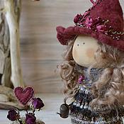 Куклы и игрушки ручной работы. Ярмарка Мастеров - ручная работа текстильная кукла ВЕДЬМОЧКА. Handmade.