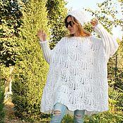 Одежда handmade. Livemaster - original item Boho sweater - oversize