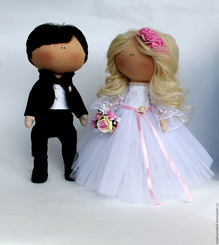 Своими руками невеста и жених кукла сшить 12