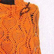 Аксессуары handmade. Livemaster - original item Shawl crocheted