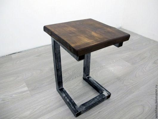 Мебель ручной работы. Ярмарка Мастеров - ручная работа. Купить Стул в стиле лофт. Handmade. Деревянный стул, массив дерева