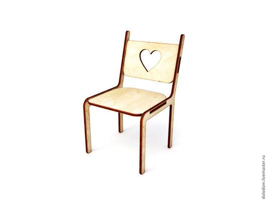 Куклы и игрушки ручной работы. Ярмарка Мастеров - ручная работа. Купить КМ-0000048 стул. Handmade. Заготовки для творчества