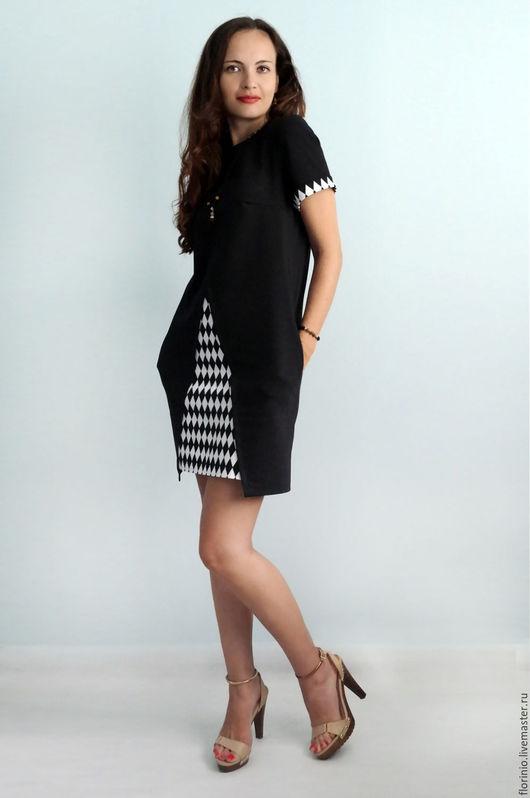 Платья ручной работы. Ярмарка Мастеров - ручная работа. Купить Платье Bel. Handmade. Черный, женское платье