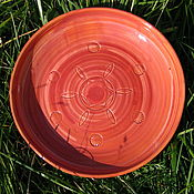 Посуда ручной работы. Ярмарка Мастеров - ручная работа Тарелка Солнечная. Handmade.