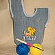 Японская сумка-клубочница Сумочка для рукоделия Сумочка клубочница  общий вид