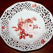Винтаж handmade. Livemaster - original item Beautiful porcelain dish